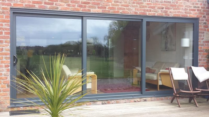 Aluminium Sliding Patio doors on